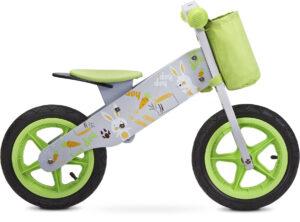 Rowerek biegowy drewniany zap zielony firmy toyz