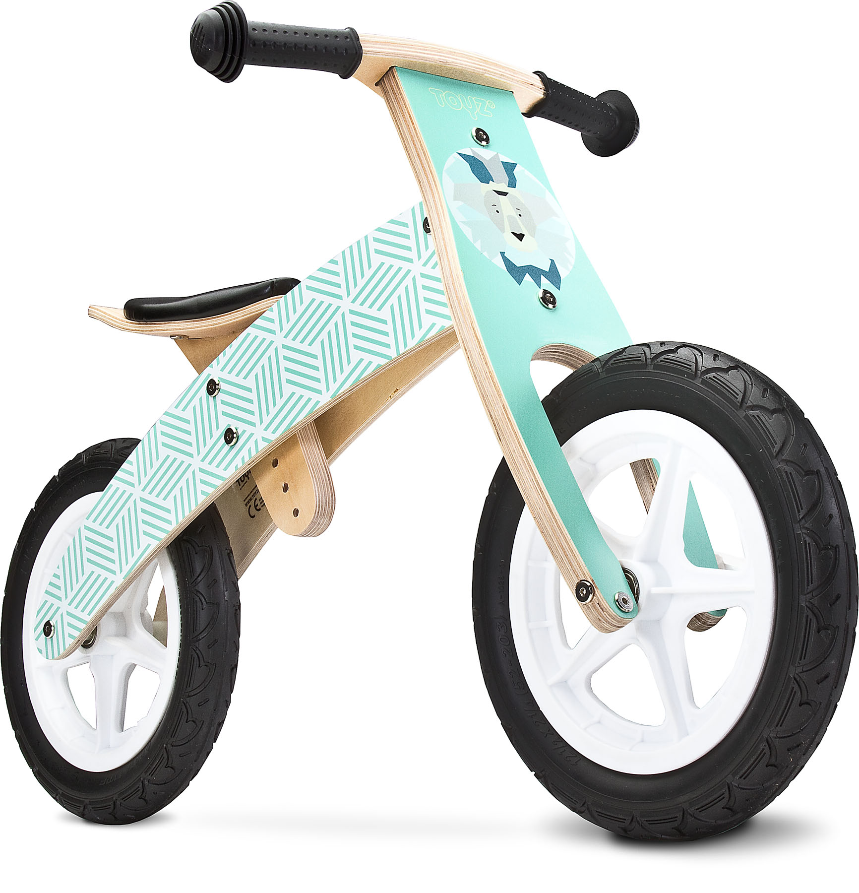 Drewniany rowerek biegowy woody toyz