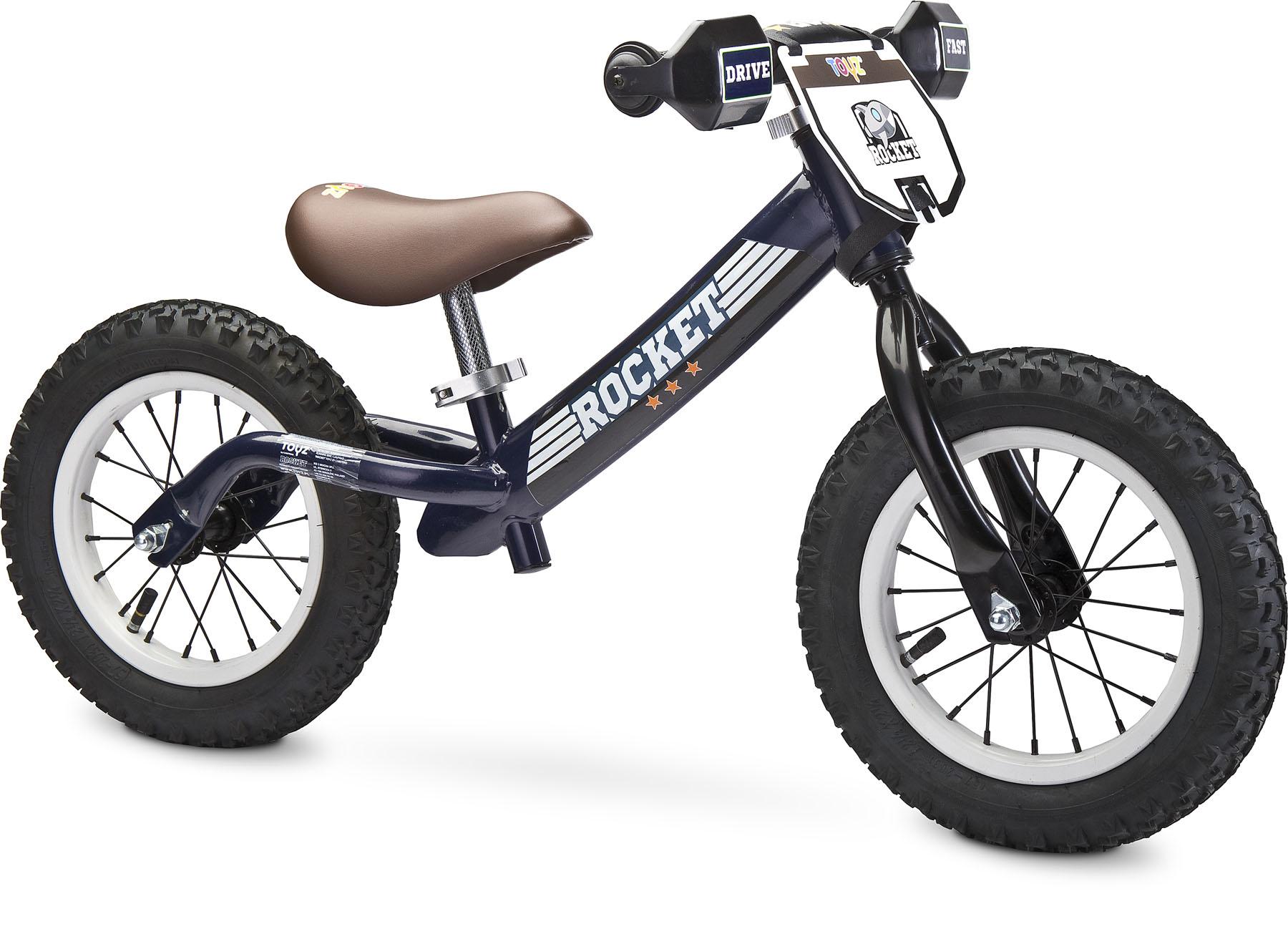 Metalowy rowerek biegowy rocket marki toyz