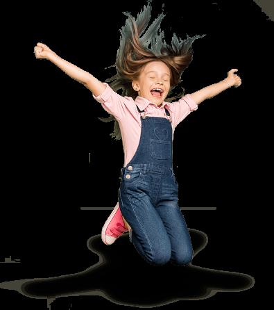 skacząca dziewczynka na stronę główną